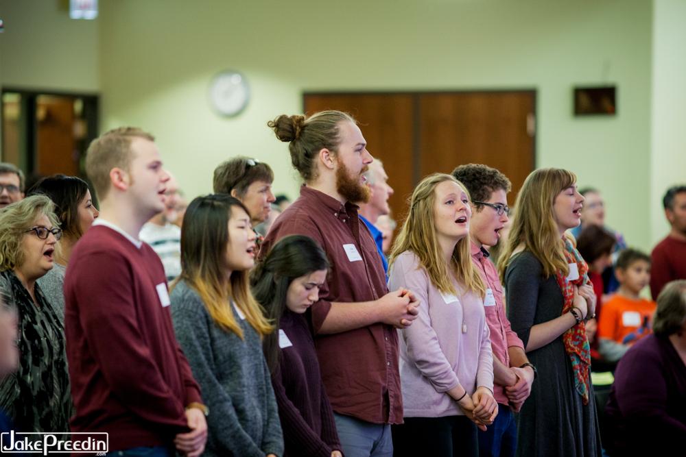 Accessible Worship Symposium - WAs singing