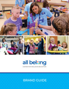 Cover of the All Belong Brand Guide