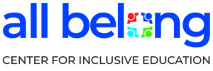 All Belong Center for Inclusive Education logo