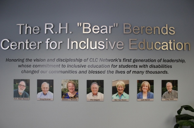 "R.H. ""Bear"" Berends Center for Inclusive Education"