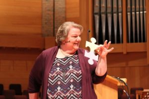 Barbara J. Newman at CICW Worship Symposium