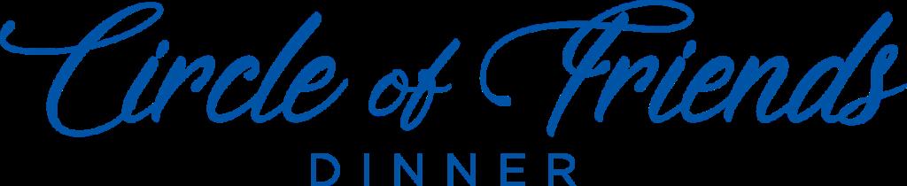 Circle of Friends Dinner Logo